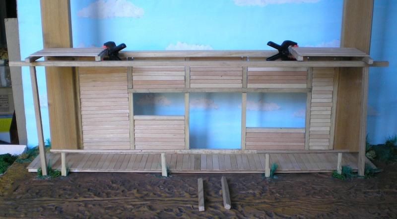 Bemalungen, Umbauten, Eigenbau - Gebäude mit Bodenplatten für meine Dioramen 003e1f10