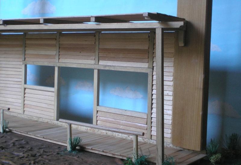 Bemalungen, Umbauten, Eigenbau - Gebäude mit Bodenplatten für meine Dioramen 003e2b10