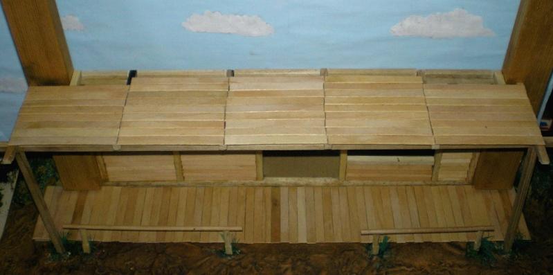 Bemalungen, Umbauten, Eigenbau - Gebäude mit Bodenplatten für meine Dioramen 003e2c10
