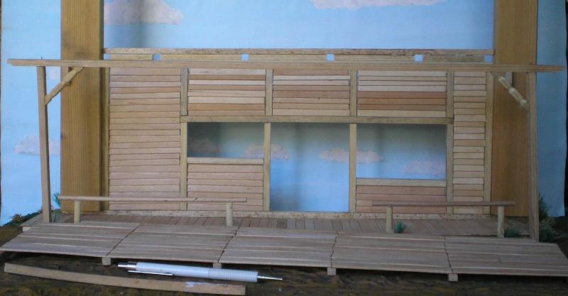 Bemalungen, Umbauten, Eigenbau - Gebäude mit Bodenplatten für meine Dioramen 003e3a10