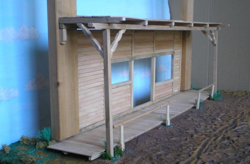 Bemalungen, Umbauten, Eigenbau - Gebäude mit Bodenplatten für meine Dioramen 003e3b10