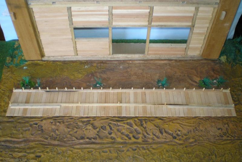 Bemalungen, Umbauten, Eigenbau - Gebäude mit Bodenplatten für meine Dioramen 003f2a10