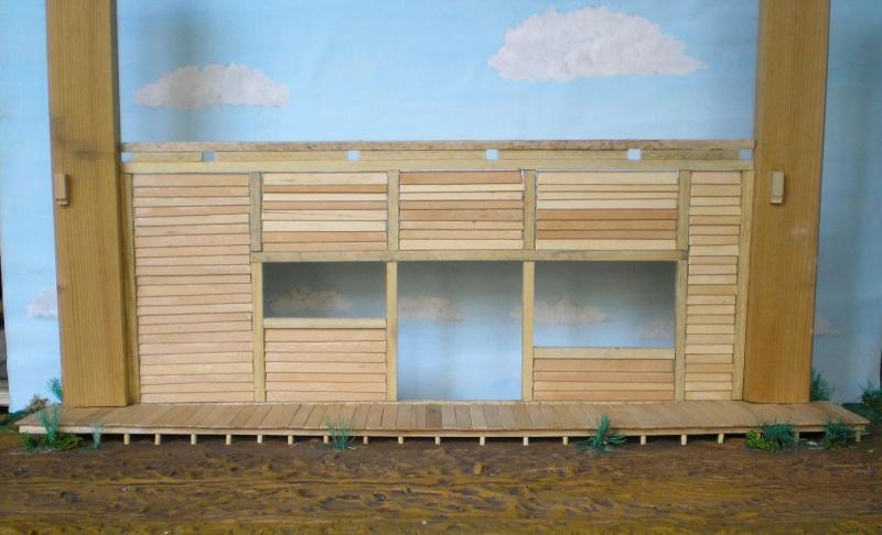 Bemalungen, Umbauten, Eigenbau - Gebäude mit Bodenplatten für meine Dioramen 003f2b10