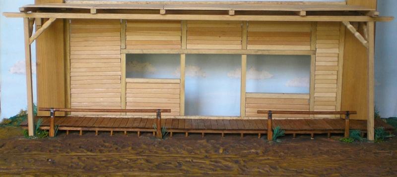Bemalungen, Umbauten, Eigenbau - Gebäude mit Bodenplatten für meine Dioramen 003f3b10