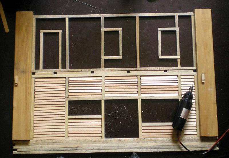 Bemalungen, Umbauten, Eigenbau - Gebäude mit Bodenplatten für meine Dioramen 003g2_10