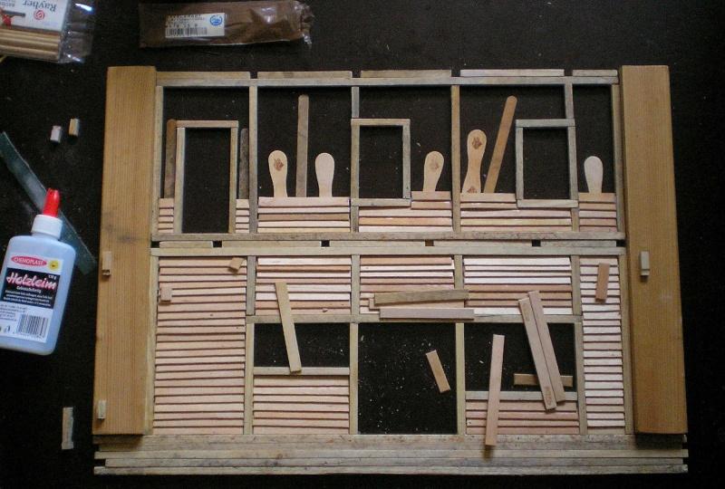 Bemalungen, Umbauten, Eigenbau - Gebäude mit Bodenplatten für meine Dioramen 003g3_10