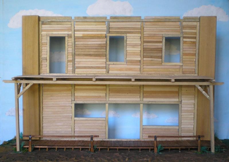 Bemalungen, Umbauten, Eigenbau - Gebäude mit Bodenplatten für meine Dioramen 003g4_10