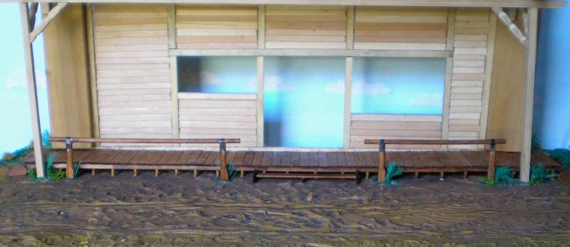 Bemalungen, Umbauten, Eigenbau - Gebäude mit Bodenplatten für meine Dioramen 003h3a10