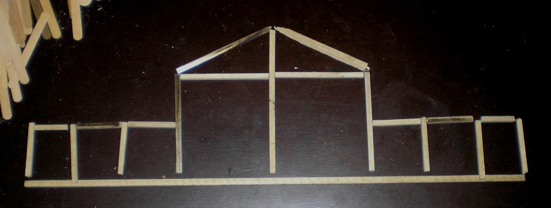 Bemalungen, Umbauten, Eigenbau - Gebäude mit Bodenplatten für meine Dioramen 003i1b10
