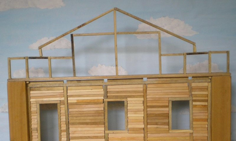 Bemalungen, Umbauten, Eigenbau - Gebäude mit Bodenplatten für meine Dioramen 003i2c10
