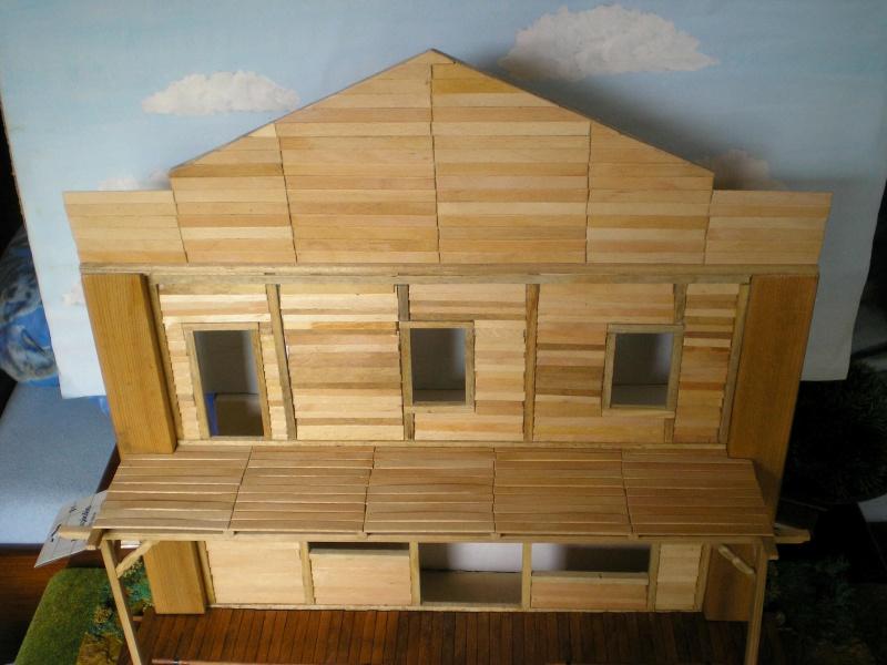 Bemalungen, Umbauten, Eigenbau - Gebäude mit Bodenplatten für meine Dioramen 003i3a10