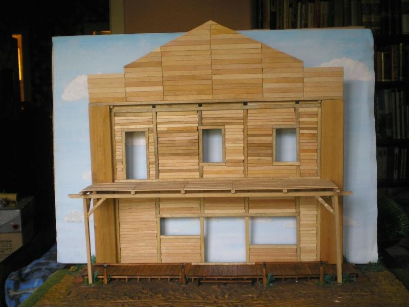 Bemalungen, Umbauten, Eigenbau - Gebäude mit Bodenplatten für meine Dioramen 003i3b10