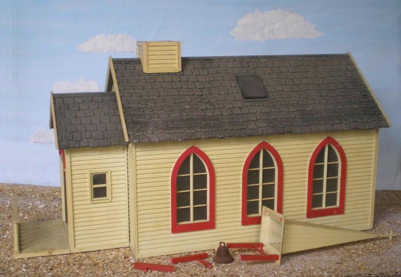 Bemalungen, Umbauten, Eigenbau - Gebäude mit Bodenplatten für meine Dioramen 004a_p10