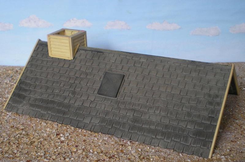 Bemalungen, Umbauten, Eigenbau - Gebäude mit Bodenplatten für meine Dioramen 004b1_11