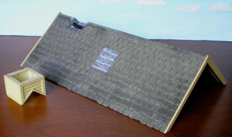 Bemalungen, Umbauten, Eigenbau - Gebäude mit Bodenplatten für meine Dioramen 004b3_10