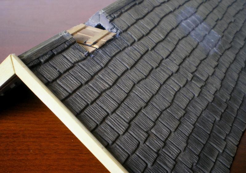 Bemalungen, Umbauten, Eigenbau - Gebäude mit Bodenplatten für meine Dioramen 004b5_10