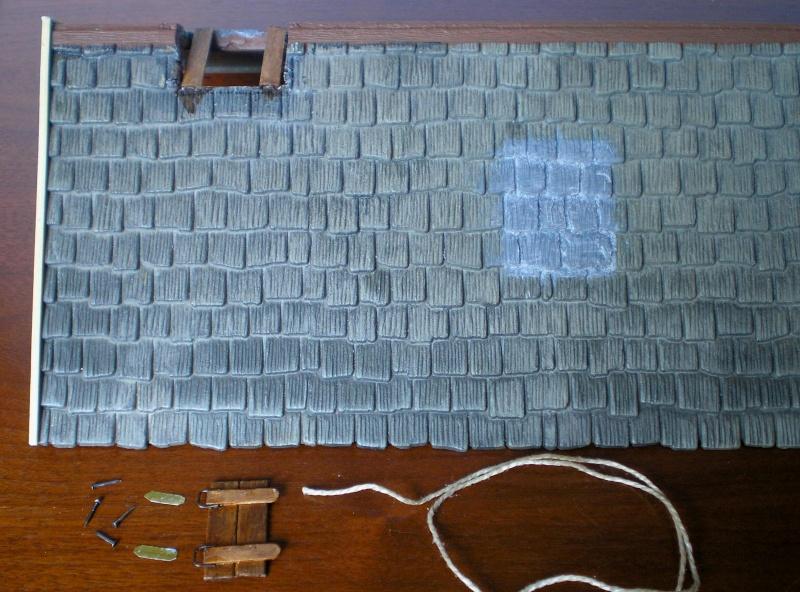 Bemalungen, Umbauten, Eigenbau - Gebäude mit Bodenplatten für meine Dioramen 004b6_10