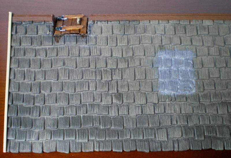 Bemalungen, Umbauten, Eigenbau - Gebäude mit Bodenplatten für meine Dioramen 004b7a11