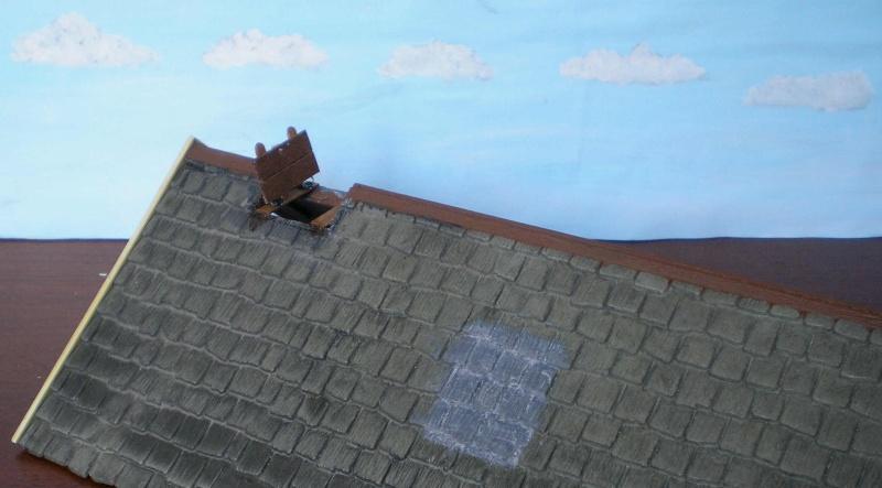 Bemalungen, Umbauten, Eigenbau - Gebäude mit Bodenplatten für meine Dioramen 004b7b11