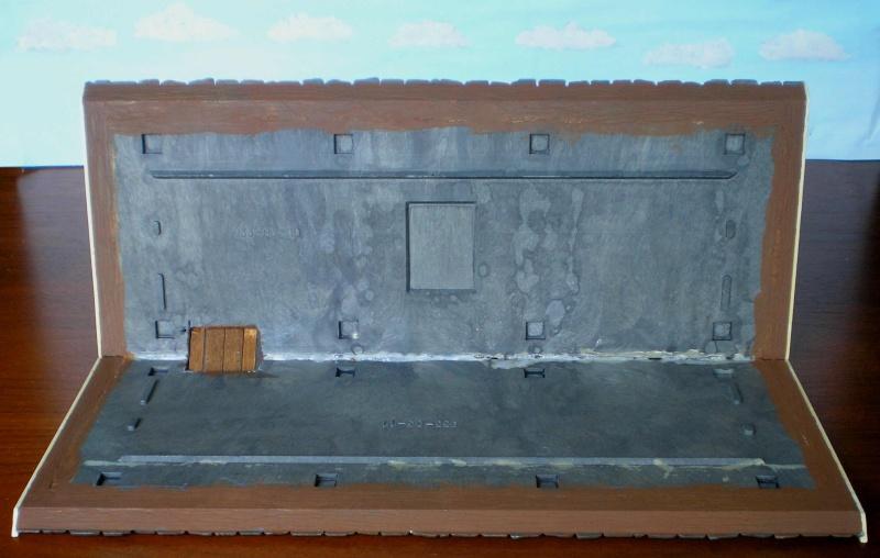 Bemalungen, Umbauten, Eigenbau - Gebäude mit Bodenplatten für meine Dioramen 004b7c10
