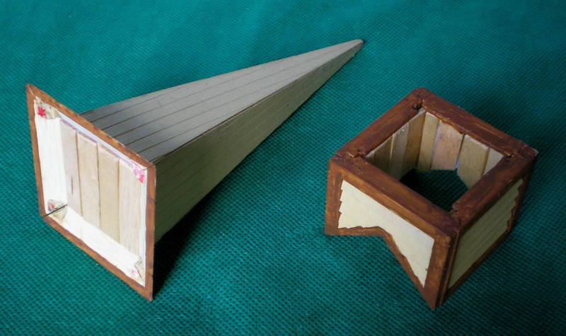 Bemalungen, Umbauten, Eigenbau - Gebäude mit Bodenplatten für meine Dioramen 004c4_10