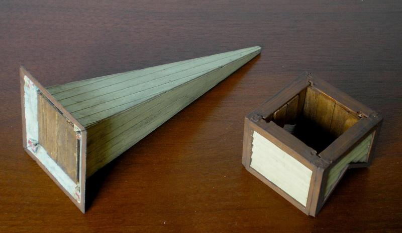 Bemalungen, Umbauten, Eigenbau - Gebäude mit Bodenplatten für meine Dioramen 004c5_10