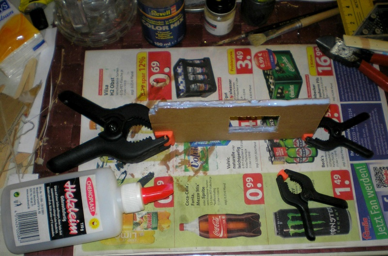 Bemalungen, Umbauten, Eigenbau - Gebäude mit Bodenplatten für meine Dioramen 004d0410