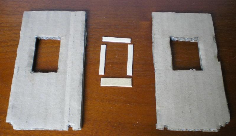 Bemalungen, Umbauten, Eigenbau - Gebäude mit Bodenplatten für meine Dioramen 004d0610