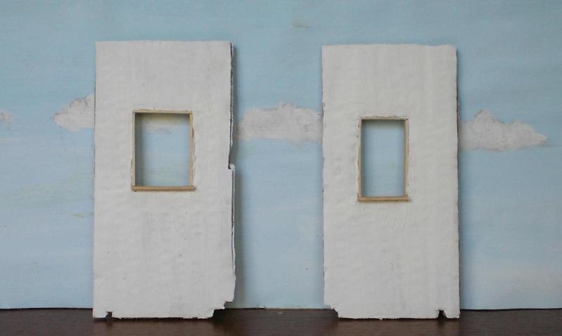 Bemalungen, Umbauten, Eigenbau - Gebäude mit Bodenplatten für meine Dioramen 004d0810