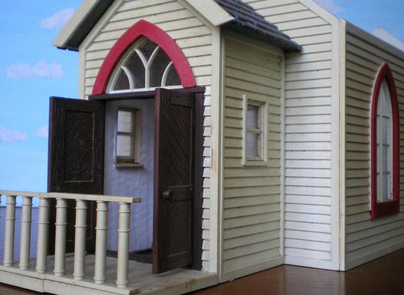 Bemalungen, Umbauten, Eigenbau - Gebäude mit Bodenplatten für meine Dioramen 004d0910