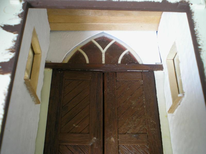 Bemalungen, Umbauten, Eigenbau - Gebäude mit Bodenplatten für meine Dioramen 004d1110