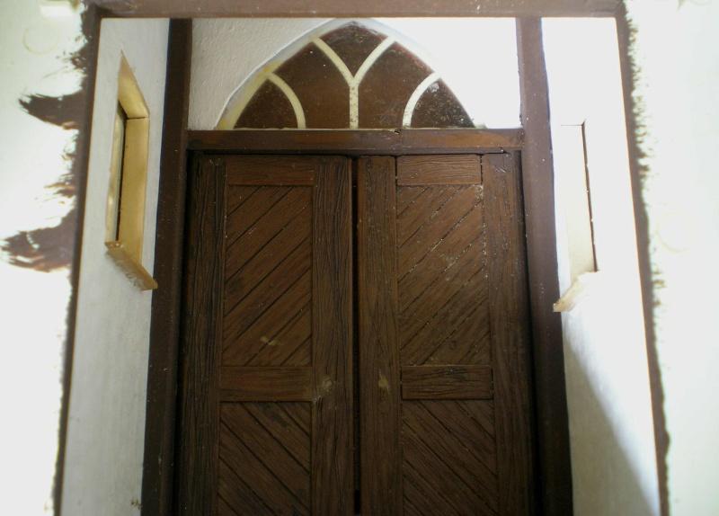 Bemalungen, Umbauten, Eigenbau - Gebäude mit Bodenplatten für meine Dioramen 004d1410