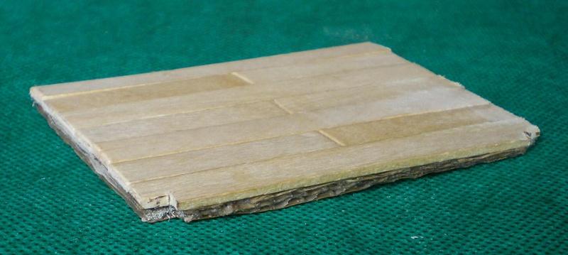 Bemalungen, Umbauten, Eigenbau - Gebäude mit Bodenplatten für meine Dioramen 004d1511