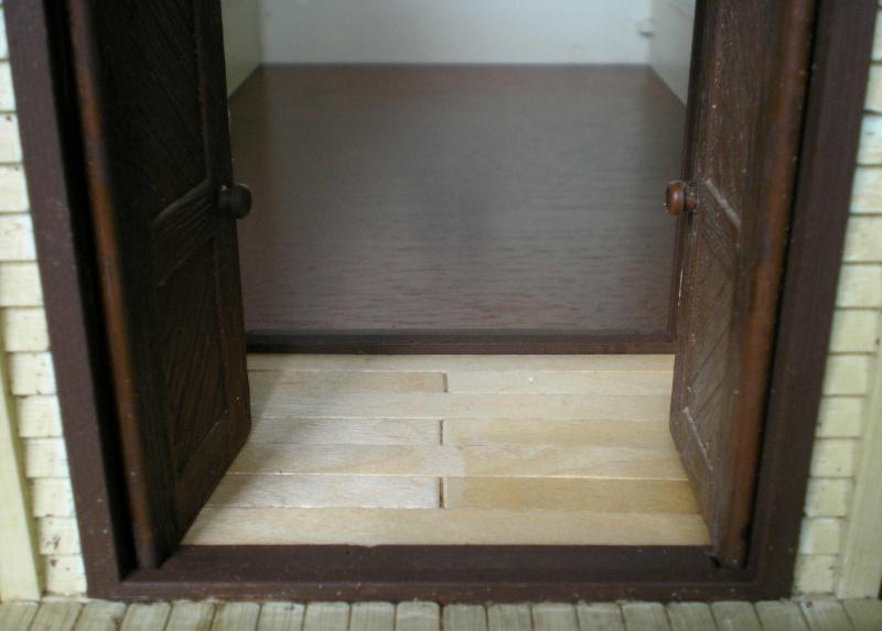Bemalungen, Umbauten, Eigenbau - Gebäude mit Bodenplatten für meine Dioramen 004d1612
