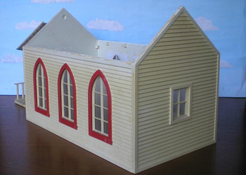 Bemalungen, Umbauten, Eigenbau - Gebäude mit Bodenplatten für meine Dioramen 004e2_10