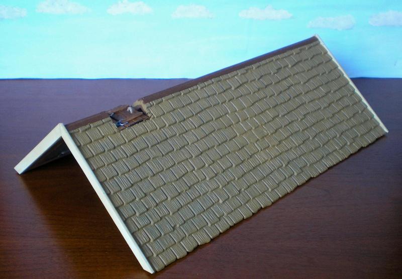 Bemalungen, Umbauten, Eigenbau - Gebäude mit Bodenplatten für meine Dioramen 004f1a10