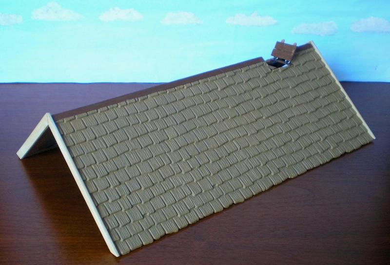 Bemalungen, Umbauten, Eigenbau - Gebäude mit Bodenplatten für meine Dioramen 004f1b10