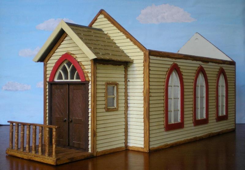 Bemalungen, Umbauten, Eigenbau - Gebäude mit Bodenplatten für meine Dioramen 004g1_10