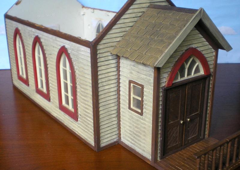 Bemalungen, Umbauten, Eigenbau - Gebäude mit Bodenplatten für meine Dioramen 004g4_10