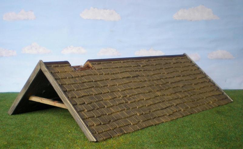 Bemalungen, Umbauten, Eigenbau - Gebäude mit Bodenplatten für meine Dioramen 004i1a10