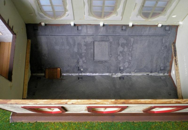 Bemalungen, Umbauten, Eigenbau - Gebäude mit Bodenplatten für meine Dioramen 004i1b10