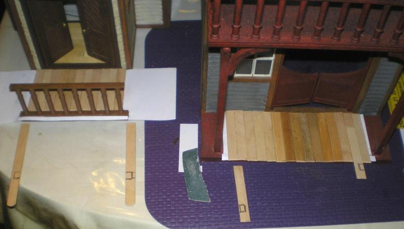 Bemalungen, Umbauten, Eigenbau - Gebäude mit Bodenplatten für meine Dioramen 004j2b10