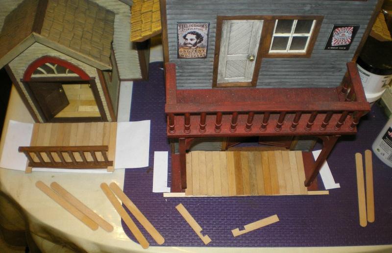 Bemalungen, Umbauten, Eigenbau - Gebäude mit Bodenplatten für meine Dioramen 004j2c10
