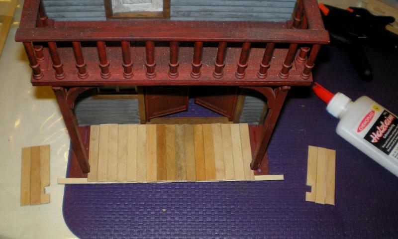 Bemalungen, Umbauten, Eigenbau - Gebäude mit Bodenplatten für meine Dioramen 004j2d10