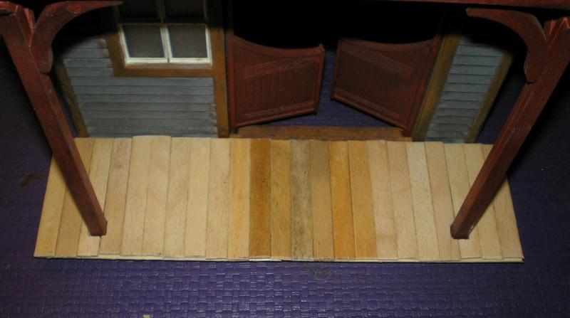 Bemalungen, Umbauten, Eigenbau - Gebäude mit Bodenplatten für meine Dioramen 004j2d11