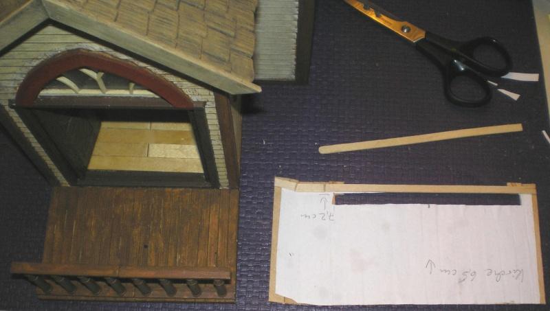 Bemalungen, Umbauten, Eigenbau - Gebäude mit Bodenplatten für meine Dioramen 004j2e10