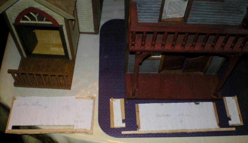 Bemalungen, Umbauten, Eigenbau - Gebäude mit Bodenplatten für meine Dioramen 004j3a10