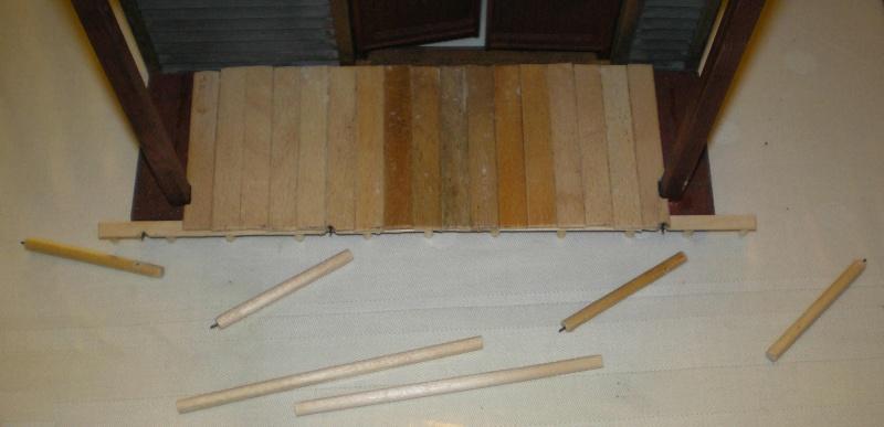 Bemalungen, Umbauten, Eigenbau - Gebäude mit Bodenplatten für meine Dioramen 004j4b10