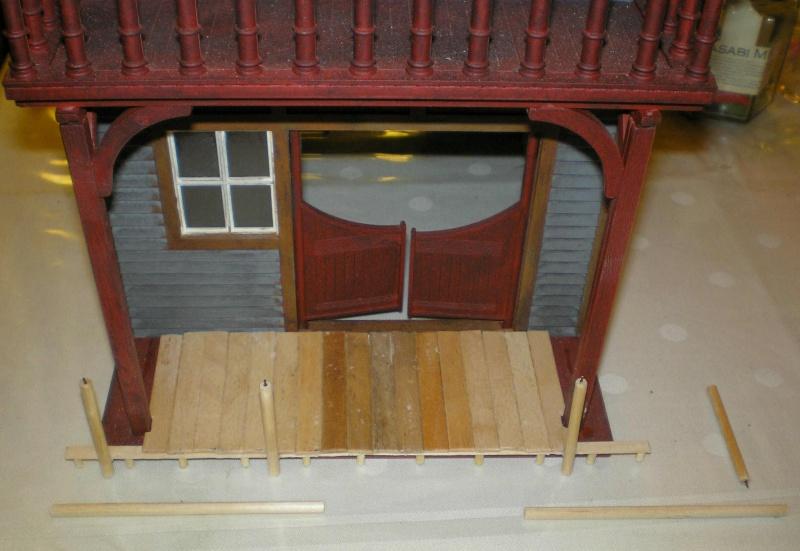 Bemalungen, Umbauten, Eigenbau - Gebäude mit Bodenplatten für meine Dioramen 004j4c10