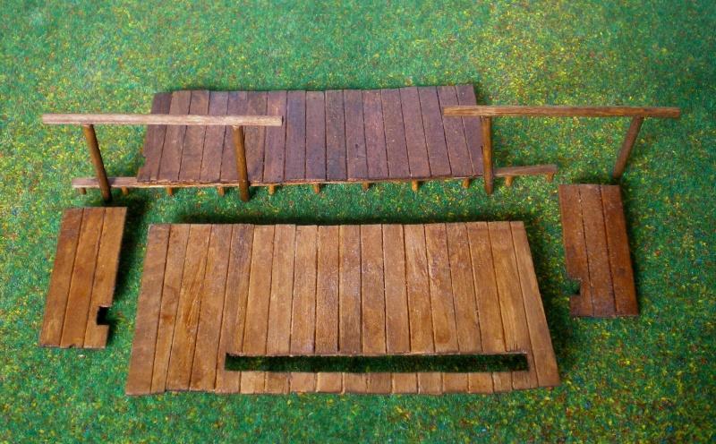 Bemalungen, Umbauten, Eigenbau - Gebäude mit Bodenplatten für meine Dioramen 004j5a10